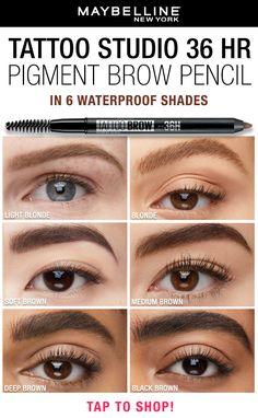 Eyebrow Makeup Tips, Makeup Eye Looks, Eyebrow Pencil, Beauty Skin, Beauty Makeup, Hair Beauty, Beauty Tips, Goth Makeup, Skin Makeup