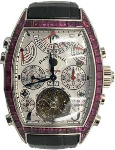 Franck Muller Aeternitas Mega 4 8888 MGA T CCR QPSE - Exquisite Timepieces Watch Companies, Watch Brands, Latest Watches, Watches For Men, Double Barrel, Pre Owned Watches, Hand Watch, Patek Philippe, Luxury Watches