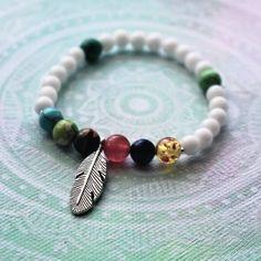 Bracelet  #spring#day#love#art#handmade#mandala#jewelry#bracelet#gift#mother#denmatek#colors#boho@katka.brezinova Mandala Jewelry, Mother Gifts, Love Art, Jewelry Bracelets, Boho, Spring, Colors, Handmade, Instagram