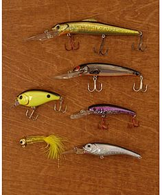 Lure in the catch of the day with this tackle box filler set! Perfect for dads who love to fish.