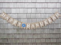 Hanukkah Banner Hanukkah Bunting Hanukkah by IchabodsImagination