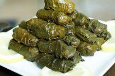 grape leaves - greek cooking