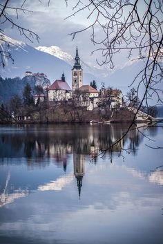 The Church of the Assumption, Lake Bled, Slovenia