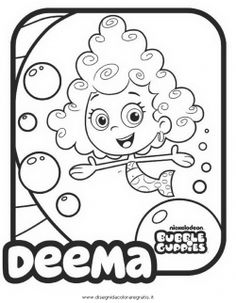 bubble guppies coloring pages baby pinterest bubble guppies guppy and bubbles