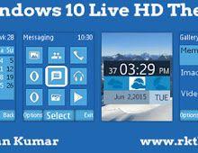 Windows 10 Live HD Theme For Nokia C1-01, C1-02, C2-00, 107, 108, 109, 110, 111, 112, 113, 114, 2690 & 128×160 Devices