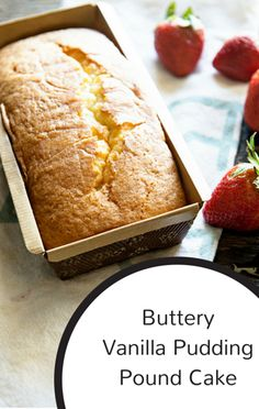 To help a viewer try to recreate a family recipe that was possibly lost forever, Carla Hall used two ingredients she could remember: vanilla pudding a lot of butter! Together, they made Buttery Vanilla Pudding Pound Cake!