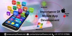 Delivering top-grade quality mobile app development solutions is something we at OmSoftware have been excelling in since the early launch of our business. Apple Mobile, Mobile App Development Companies, Product Launch, Android, Technology, Blog, Tech, Tecnologia