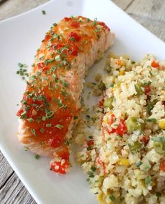 Salmon Recipes, Healthy Recipes, Healthy Food, Nom Nom, Detox, Spicy, Food And Drink, Low Carb, Fish