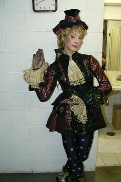 Backstage Musical | Dez longos anos: O Fantasma da Ópera - Jana Amorin as Meg (understudy) - Sao Paulo, Brazil, 2005-06