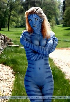from Tyrone naked girls from avatar the movie