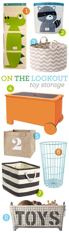 on the lookout: toy storage | Ampersand Design Studio
