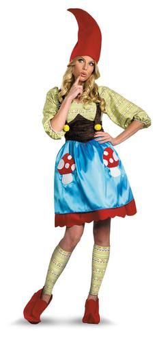Ms. Gnome Adult Costume