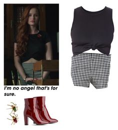 Cheryl Blossom - Riverdale by shadyannon on Polyvore featuring polyvore fashion style L.K.Bennett clothing