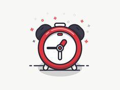 Alarm Clock by Sandor - Dribbble