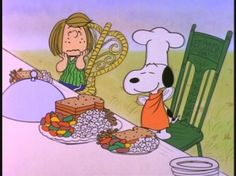 charlie brown thanksgiving peanuts