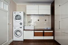 Modern Washer And Dryer Combo Image