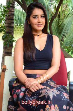 Rashi Khanna Hot Pics from Hyper Movie Interview