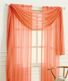 Look what I found on #zulily! Ginger Spice Adielle Sheer Voile Curtain Panel #zulilyfinds
