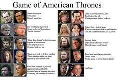 American Game of Thrones. omg!