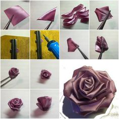 How-to-make-Purple-Ribbon-Rose-step-by-step-DIY-tutorial-instructions-thumb