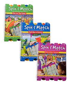 Loving this Spin & Match Set on #zulily! #zulilyfinds