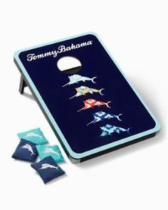 Books  Games | Tommy Bahama Corn Hole Game, Cornhole, Tommy Bahama, Games, Floral, Books, Libros, Flowers, Book