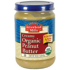This creamy smooth peanut butter is made with sweet organic peanuts. No Oils or stabilizers added. :) Put 1 tablespoon of this on gluten-free bread or a rice cake! #lowfodmap