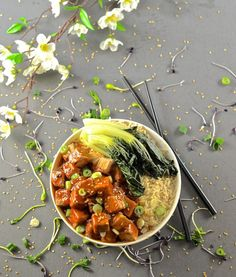 Sticky Chili Ginger Tofu