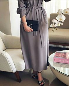 Modern Hijab Fashion, Arab Fashion, Muslim Fashion, Modest Fashion, Fashion Dresses, Hijab Dress Party, Hijab Style Dress, Moda Hijab, Mode Kimono