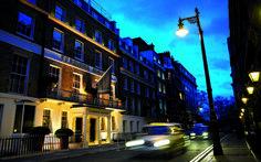 Flemings Mayfair Hotel, Half Moon Street, London, England United Kingdom - Click 'n Book Hotels Small Luxury Hotels, Luxury Rooms, European City Breaks, Mayfair London, Green Park, London Hotels, Buckingham Palace, Best Location, Street View