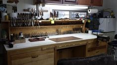 leather workbench - Google Search
