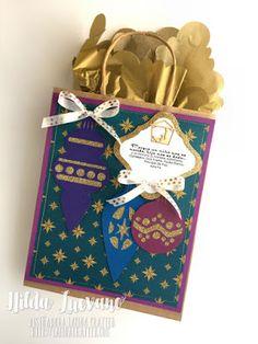 Hilda Designs: Blog Hop de Navidad, archivos SnapDragon Snippets, sellos Latina Crafter
