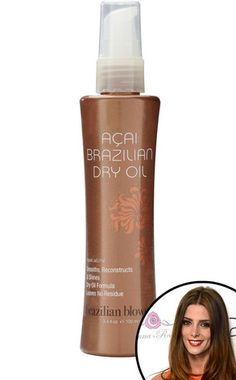 Ashley Greene adores this smoothing hair product!