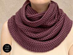 the knit kid Schal Loop Snood Strickloop Merino... - what stitch is this?