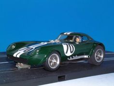 Hand made ABS Cheetah slot car 1/24 by Mr. Iwamizu. I missed it on auction and WANT