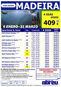 MADEIRA desde Valencia Avance 06 Enero a 31 Marzo ultimo minuto - http://zocotours.com/madeira-desde-valencia-avance-06-enero-a-31-marzo-ultimo-minuto/