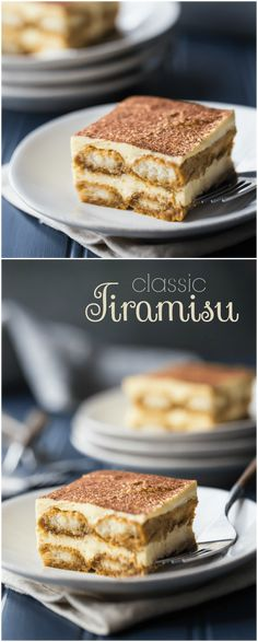 This is my FAVORITE tiramisu recipe!  So airy, light, and rich, with the perfect balance of flavors. I make it all the time and everyone always loves it!  #tiramisu #recipe #easy #authentic #classic #mousse #best #italian #desserts #original #mascarpone via @bakingamoment