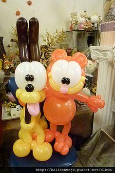 Garfield + Odie | Balloonmojo