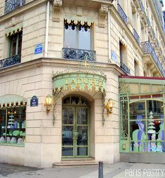 Laduree on Avenue des Champs Elysees, Paris