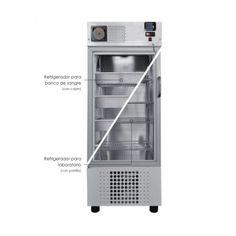 Refrigerador para banco de sangre