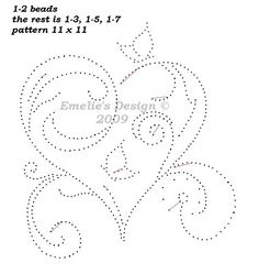 This will make a wonderful quilling pattern too.