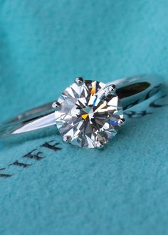 1.2CT I/VVS2 Tiffany & Co Solitaire Engagement Ring 6-Prong