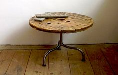 Cable Spool Table.