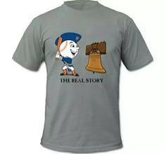 The real story of the Liberty Bells' crack. Mr Met