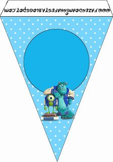 Monster university free party printables party pinterest monster university free printables and images filmwisefo