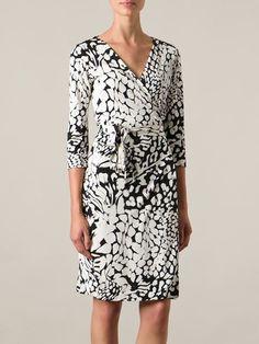 Diane Von Furstenberg Vestido Em Seda
