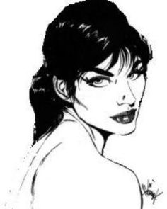 No one is as cool as Modesty Blaise