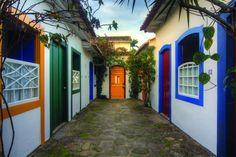 POUSADA DO OURO EM PARATY - Localizada no coração do centro histórico da charmosa cidade.