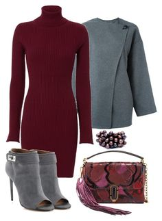 """Sin título #172"" by lavandar ❤ liked on Polyvore featuring Isabel Marant, Autumn Cashmere, Givenchy, Marc Jacobs and Monies"