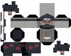 kakuzu by hollowkingking on DeviantArt Naruto E Boruto, Anime Naruto, Akatsuki, Origami Naruto, Anime Crafts, Bullet Journal School, Canvas Prints, Art Prints, Paper Toys